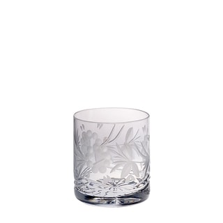 Majestic Gifts 14-ounce Hand-cut Crystal Double Old Fashioned Tumbler (Pack of 4)
