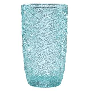 Lenox Creekside Turquoise Highball Glass