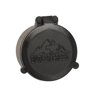 Butler Creek Flip-open Black Plastic Objective Size 17 Scope Cover