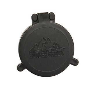 Butler Creek Flip-open Black Plastic Objective Size 11 Scope Cover