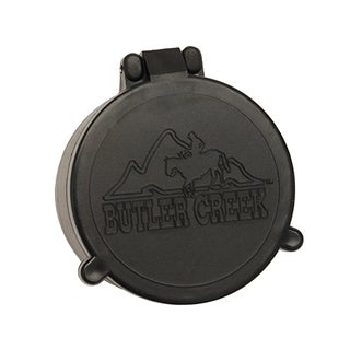Butler Creek Black Plastic Objective Size 07 Flip-open Scope Cover