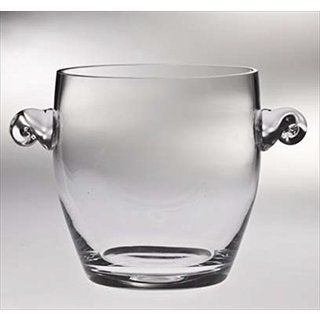 Majestic Gifts Clear Glass Ice Bucket