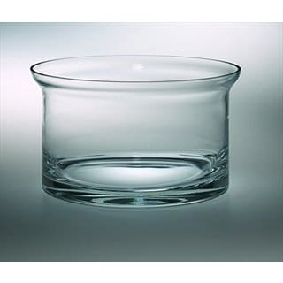 Majestic Gifts Quality Glass Flared Salad Bowl