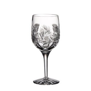 Majestic Gifts Clear Hand-cut Crystal 9-ounce Red Wine Goblets (Pack of 4)