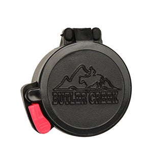 Butler Creek Black Plastic Flip Open Scope Cover