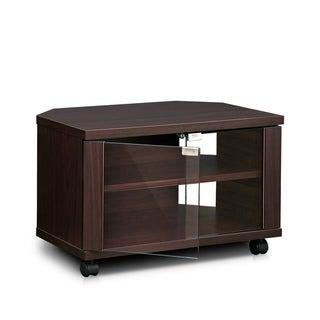 Furinno Indo Espresso 3-tier Petite TV Stand