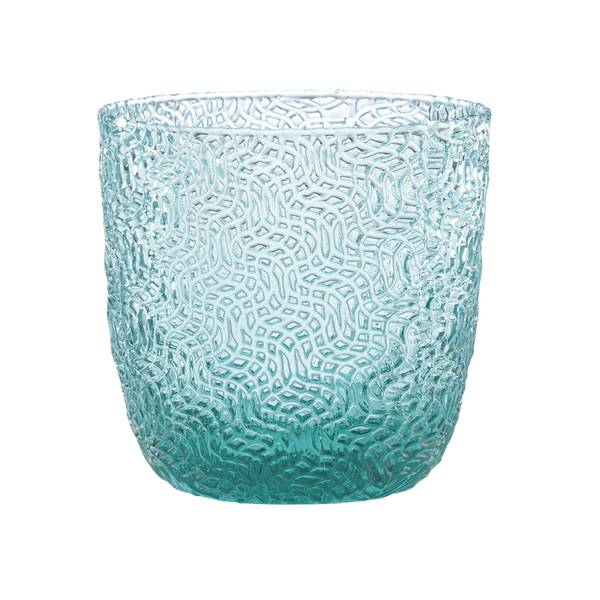 Shop Lenox Creekside Turquoise Double Old Fashion Glass