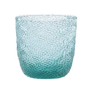Lenox Creekside Turquoise Double Old Fashion Glass