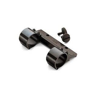 Weaver Black Aluminum 1-inch Detachable Side Mount Rings