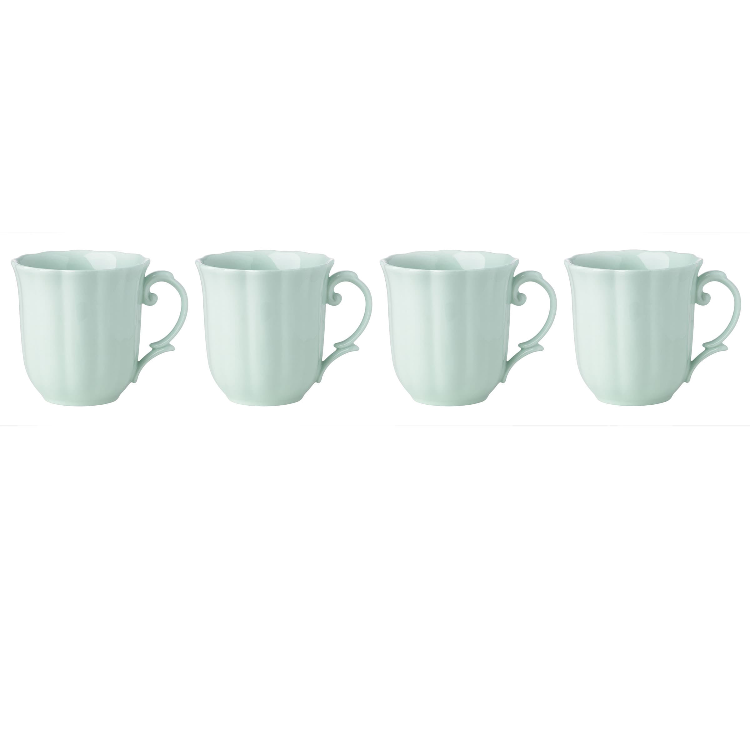Lenox Butterfly Meadow Mint Green Porcelain Dessert Mug S...