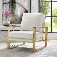 'Mott' Textured Chair in Pearl