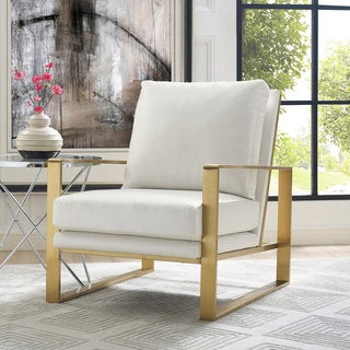 'Mott' Textured Chair in Pearl