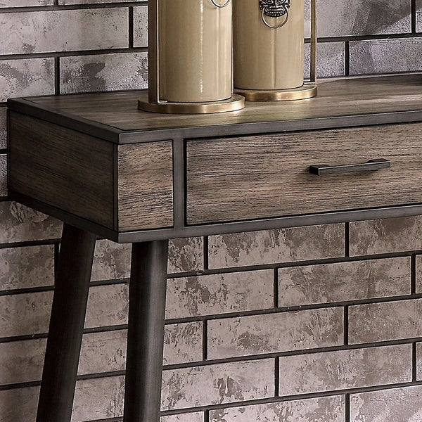 Rustic Sofa Tables For Sale: Shop Furniture Of America Bradensbrook Industrial Rustic 2