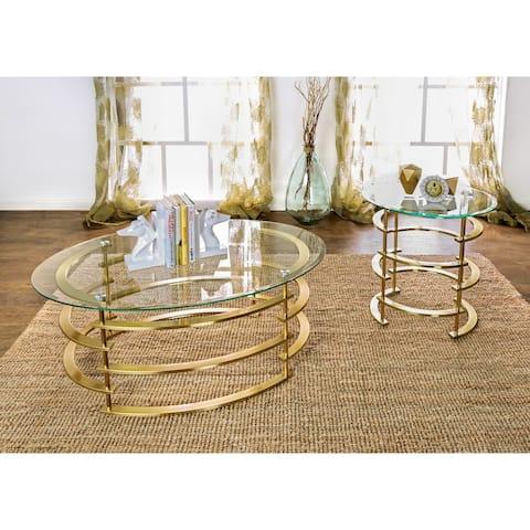 Furniture of America Odella Contemporary 2-piece Accent Table Set