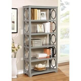 Furniture of America Avenor Contemporary 5-tier Open Display Shelf