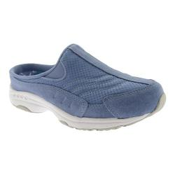 Women's Easy Spirit Traveltime Slip-on Medium Blue/White Suede