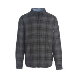 Men's Woolrich Trout Run Shirt Gray Hunt Plaid