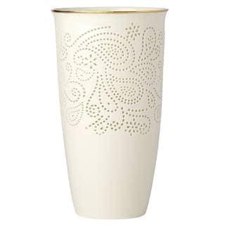 Lenox Pierced Paisley Medium 10-inch Vase