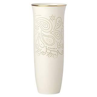 Lenox Pierced Paisley Petite 9-inch Vase