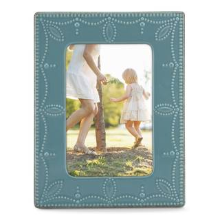 Lenox French Perle Bluebell 4x6 Frame