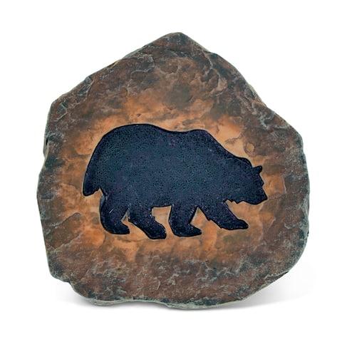 Puzzled The Wild Black Bear Coaster