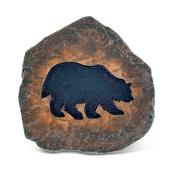 Puzzled The Wild Black Bear Coaster