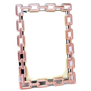 Heim Concept Copper Link Photo Frame 4 x 6'