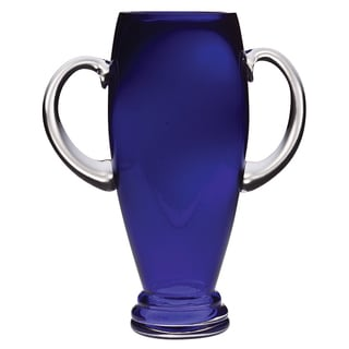Majestic Gifts Cobalt Glass 13.5-inch Trophy Vase