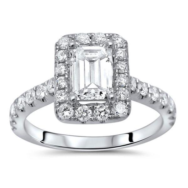 Shop Noori 14k White Gold 1 1 4 Ct Tdw Emerald Cut