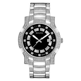 Bulova Men's Watch Crystals Collection 96B176