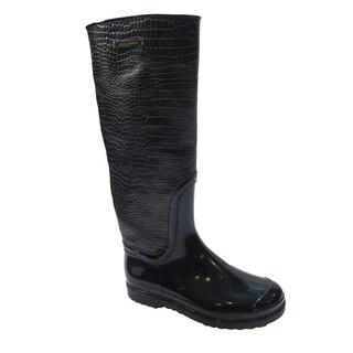 Dolce & Gabbana Brown Rain Boots (Size 7)
