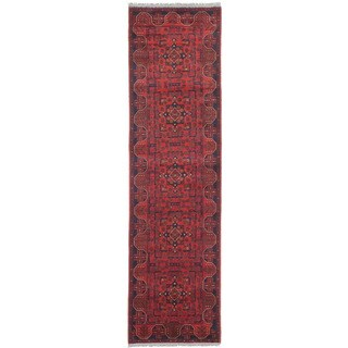 ecarpetgallery Hand-Knotted Finest Khal Mohammadi Red Wool Rug (2'8 x 9'6)