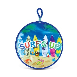 Puzzled Nautical Surf's Up Ceramic Pot Holder