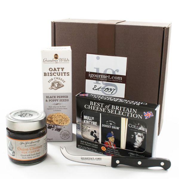 igourmet Best of British Cheese Gift Box