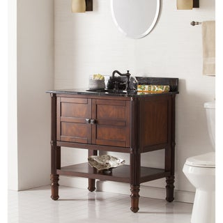 Harper Blvd Bauer Bath Vanity Sink w  Marble Top31 40 Inches Bathroom Vanities   Vanity Cabinets   Shop The Best  . 32 Inch Bathroom Vanity. Home Design Ideas