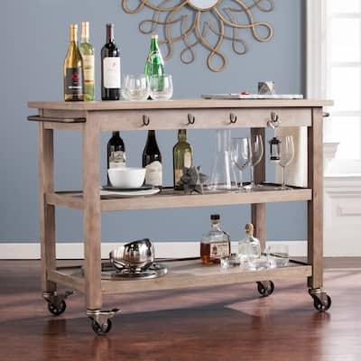 The Gray Barn Oriaga Industrial Kitchen Cart