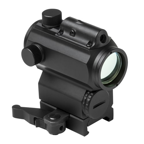 NcStar Black Micro Red and Blue Dot with Green Laser Gun Sight