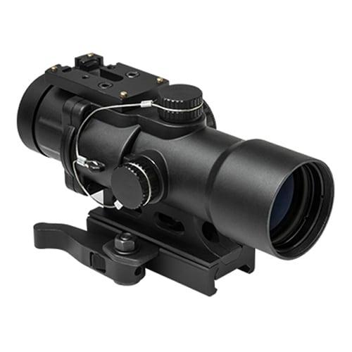 NCStar Black Cast Aluminum 3.5x-magnification 32-millimeter Compact Prismatic Optic