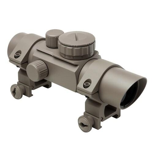 NCStar Tan 4-reticle 1x30-millimeter 30-millimeter Tube Reflex Optic