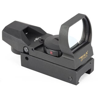 BSA Panoramic Red/Green/Blue Multi Reticle Boxed Sight