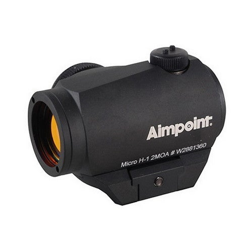 Aimpoint Black Micro H-1 2 MOA Sight with Standard Mount