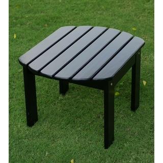 Alston Black Mahogany Adirondack Side Table