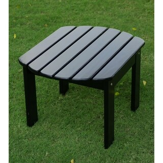 Alston Black Mahogany Adirondack Side Table