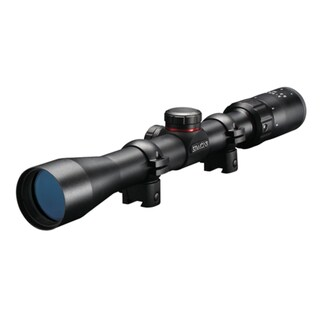 Simmons 22 Mag Matte Black 3-9x32 AO Scope with Rings