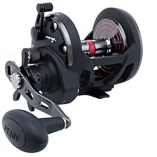 Penn Warfare Star Aluminum and Graphite Ambidextrous Clam Package Drag Reel