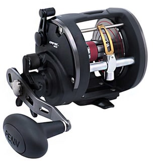 Penn Warfare Graphite and Aluminum Right Hand Clam Package Level Wind Reel