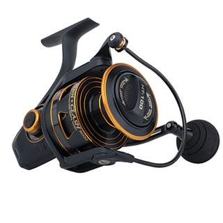 Penn Clash 3000 6.2:1 Gear Ratio 9-bearing 15-pound Max Drag Ambidextrous Boxed Spinning Reel