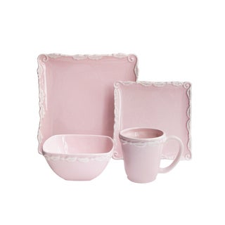 Bianca Wave 16 Piece Dinnerware Set