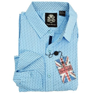 English Laundry Dot Print Sport Shirt