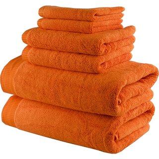 Lunasidus Odessa Turkish Cotton 750 GSM Luxury 6-piece Towel Set